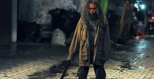 Yayan Ruhian returns as another character, Prokoso--a homeless assassin who chose the life over his family.
