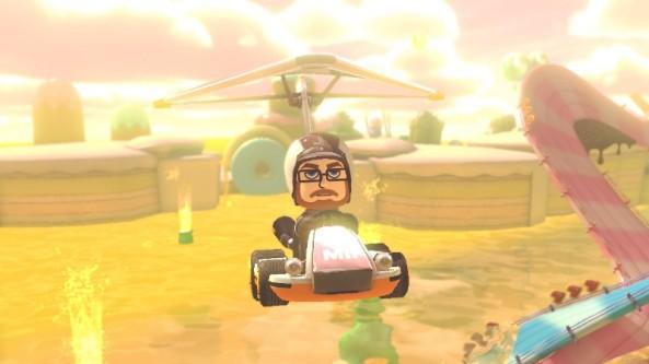 Hang-Gliding a Go-Kart through Candyland?  Still not impressed.
